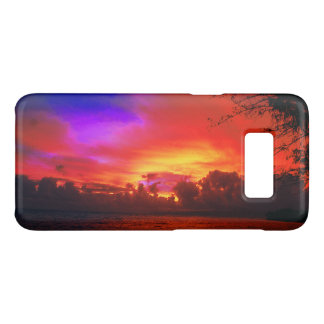 Tropical Sunset Case-Mate Samsung Galaxy S8 Case