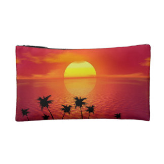 Tropical Sunset Cosmetic Bag