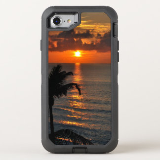Tropical Sunset OtterBox Defender iPhone 8/7 Case