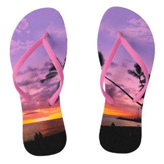 Tropical Sunset Thongs