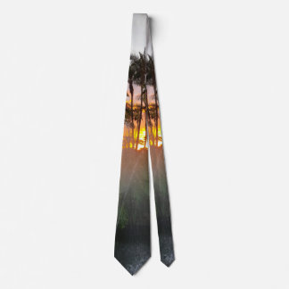 Tropical Sunset Tie