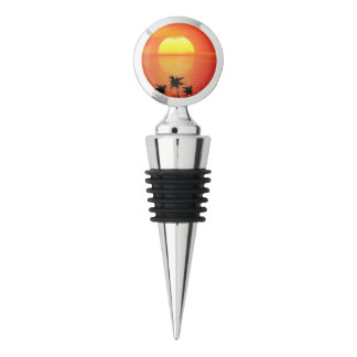 Tropical Sunset Wine Stopper