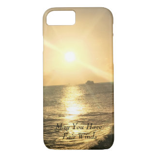 Tropical  Sunset with beautiful colours iPhone 8/7 Case