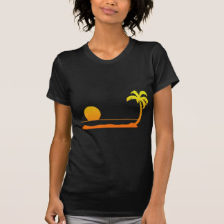 Tropical Sunset - Yellow/Red T-Shirt