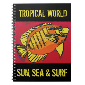 Tropical Surf Notebooks