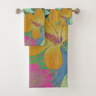 Tropical Tapestry II Bath Towel Set