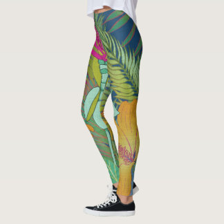 Tropical Tapestry II Leggings