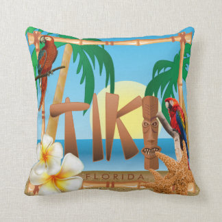 Tropical Tiki Design Cushion
