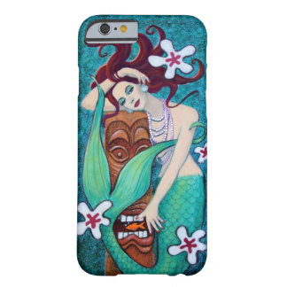 Tropical Tiki Mermaid iPhone 6 case Barely There iPhone 6 Case