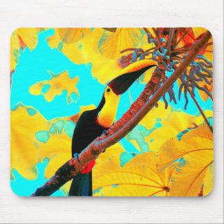 Tropical Toucan Bird Mouse Pad