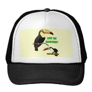 Tropical Toucan Cap