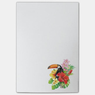 Tropical Toucan Collage Post-it® Notes