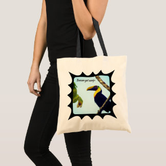 Tropical Toucan Get Away Tote Bag