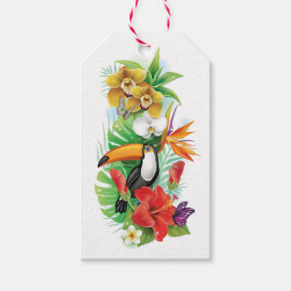 Tropical Toucan (left) Pack Of Gift Tags