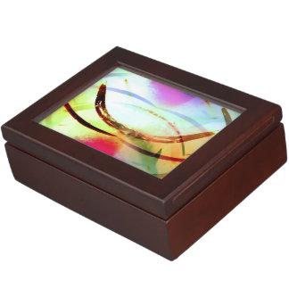 Tropical Tourmaline Keepsake Box