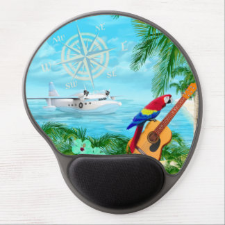 Tropical Travels Gel Mouse Mat
