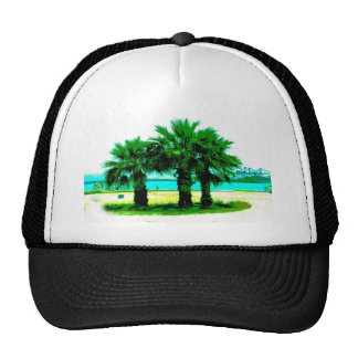 Tropical Tree Trio Cap