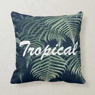 Tropical Trow Pillow