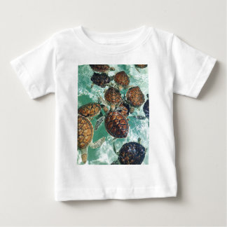 Tropical Turtles (Kimberly Turnbull Photography) Baby T-Shirt