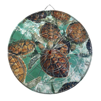 Tropical Turtles (Kimberly Turnbull Photography) Dartboard