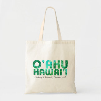 Tropical Typography Oahu Hawaii // Personalize