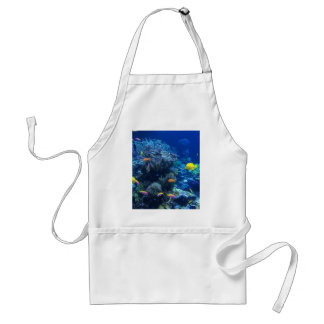 Tropical underwater fish standard apron