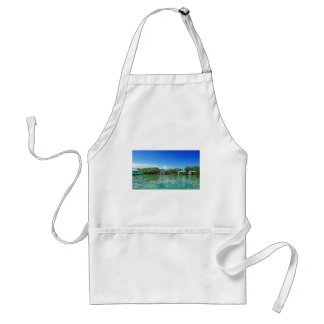 tropical vacation standard apron