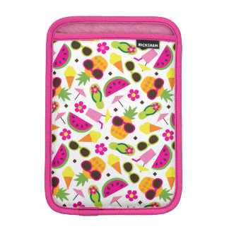 Tropical Vacation Seamless Pattern iPad Mini Sleeve