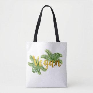 Tropical Vegan Tote Bag