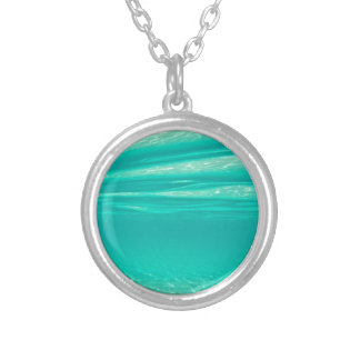 Tropical Vibe Silver Plated Necklace