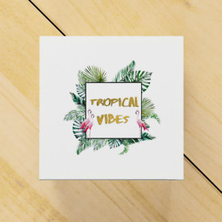Tropical vibes favour box