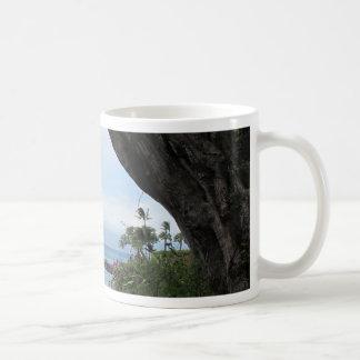 Tropical view of ocean mugs