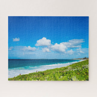 Tropical View of The Atlantic Ocean Jigsaw Puzzle