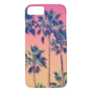 Tropical Vintage Palms Girly iPhone 8/7 Case