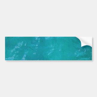 Tropical Water Background Bumper Sticker