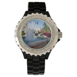 Tropical Water Fountain Watch