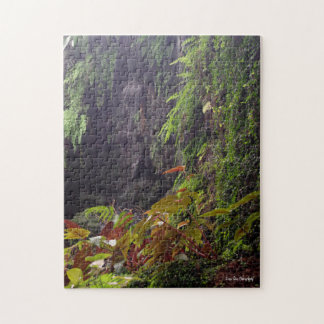 Tropical Waterfall Jigsaw Puzzle