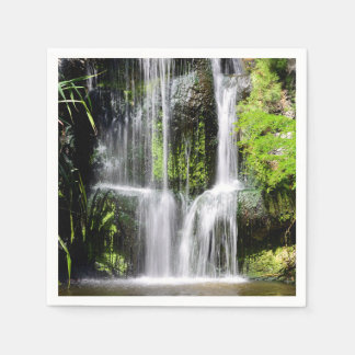 Tropical Waterfall (party napkin) Disposable Serviettes
