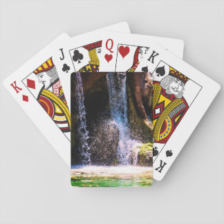 Tropical Waterfall Playing Cards
