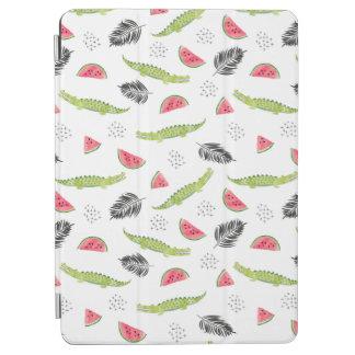 Tropical Watermelon & Crocodile Pattern