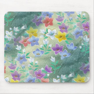 Tropical Wildflowers Mouse Pad