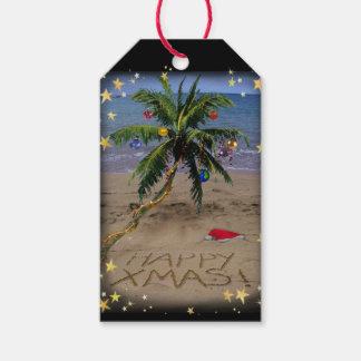 Tropical X-mas Gift Tags