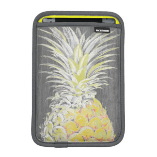 Tropical Yellow Pinneapple iPad Mini Sleeve