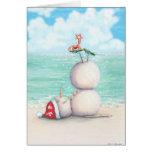 Tropical Yoga Christmas Card