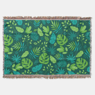 Tropicalha Throw Blanket