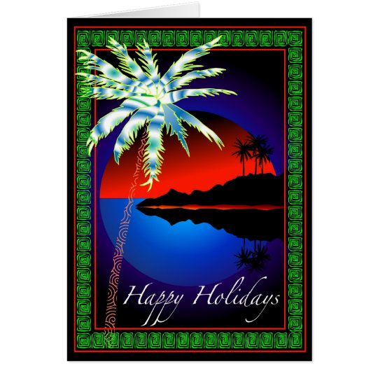Tropicana Christmas Card