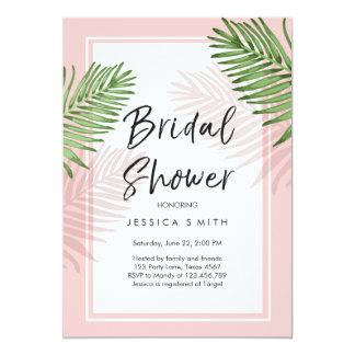 Tropics Bridal Shower Invitation Tropical Hawaii