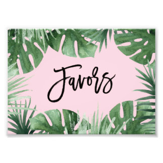 Tropics Favors Print Photographic Print