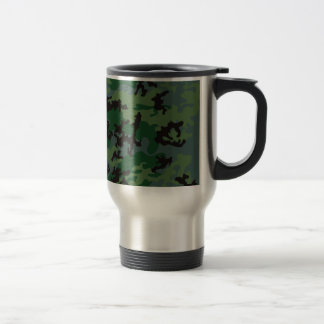 Tropics Verdant Camo Stainless Steel Travel Mug