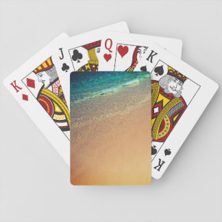 Tropics Wave Playing Cards
